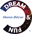 DREAM & FUN Home Decor Logo